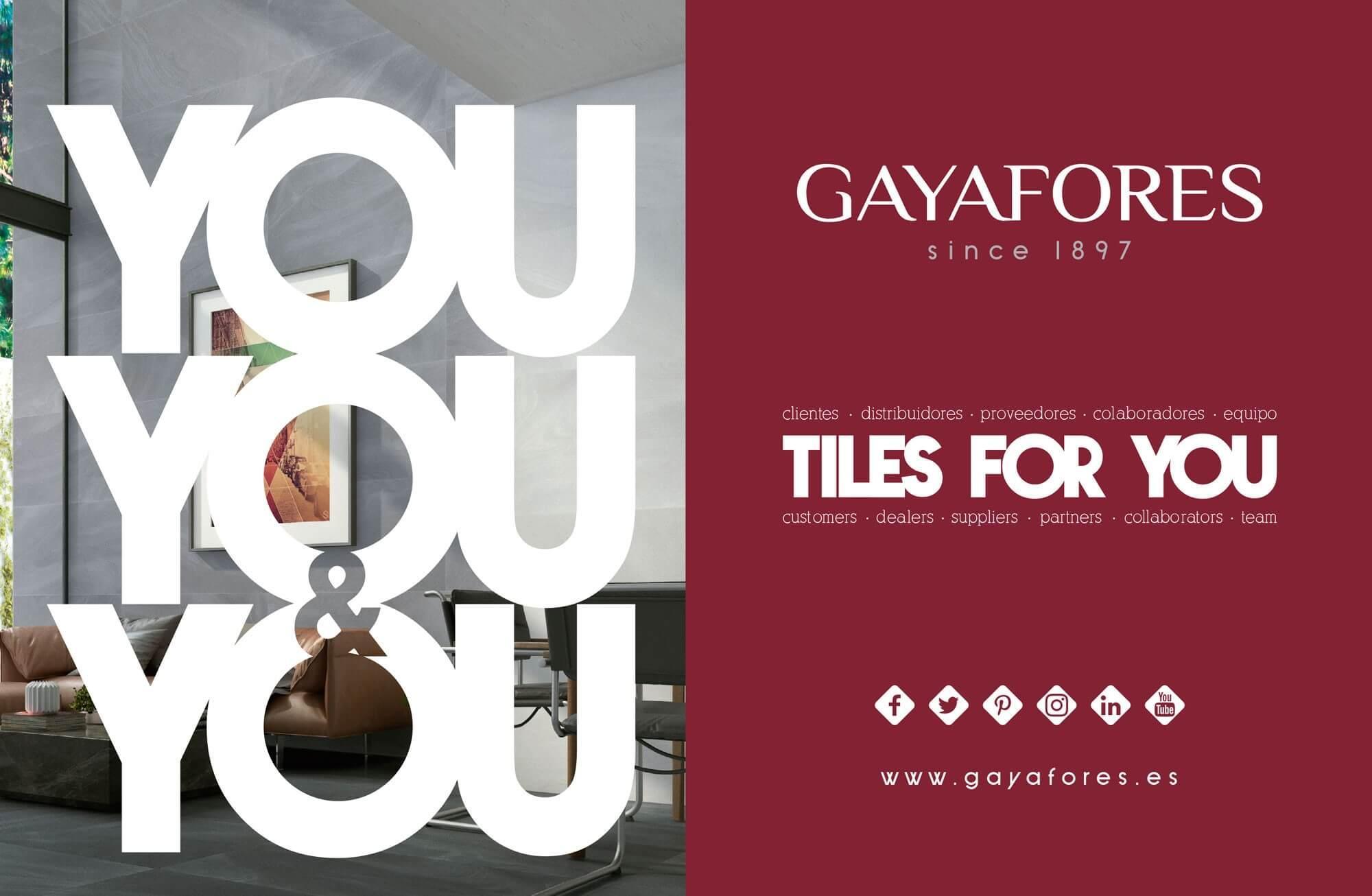 cevisama 2018 - Gayafores apuesta por un 2018 apasionante en su 120 aniversario