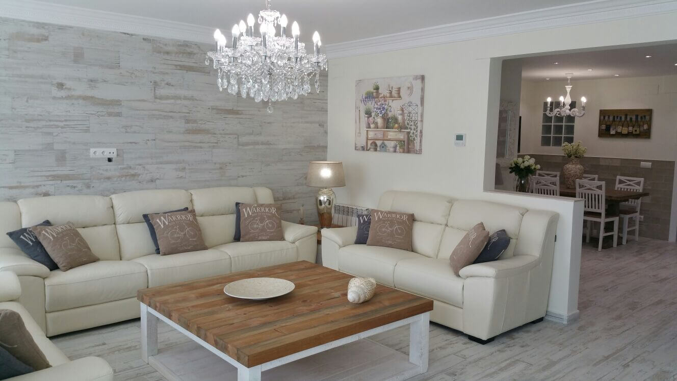 01 Living room - Piso Sitges