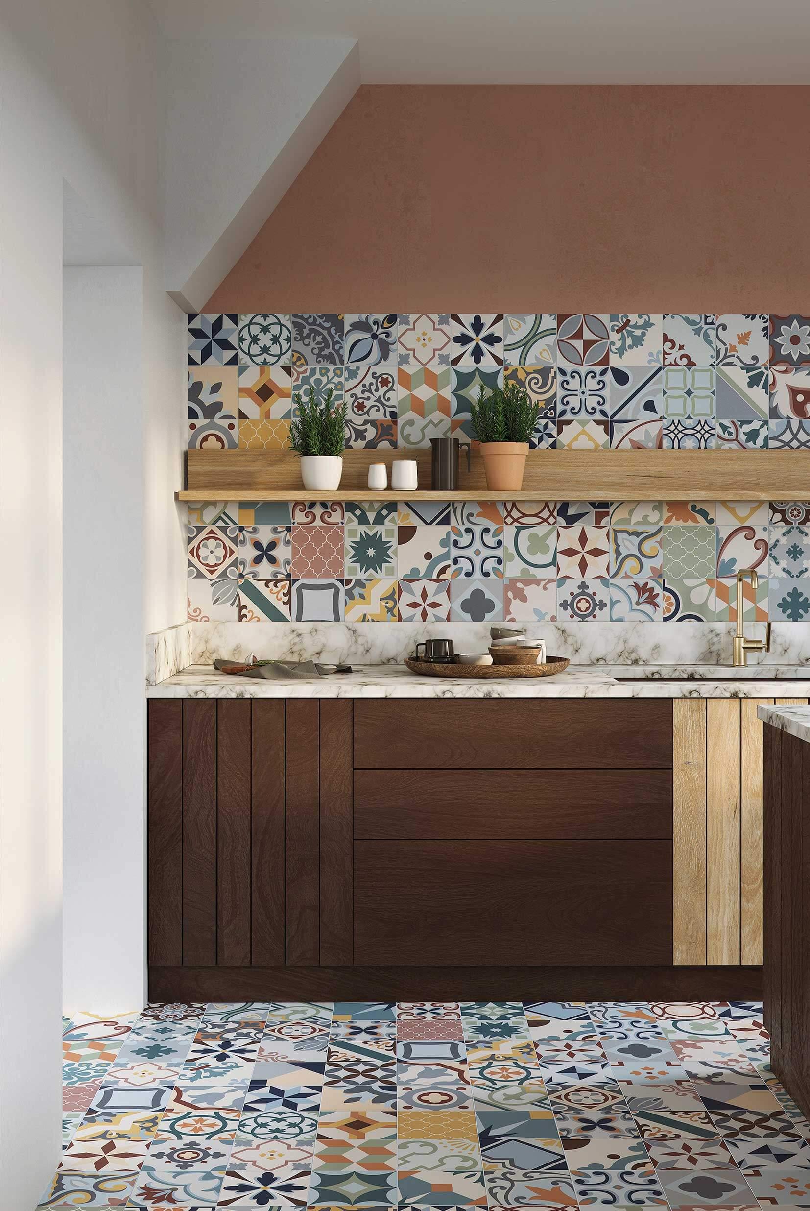Azulejos decorativos para la cocina