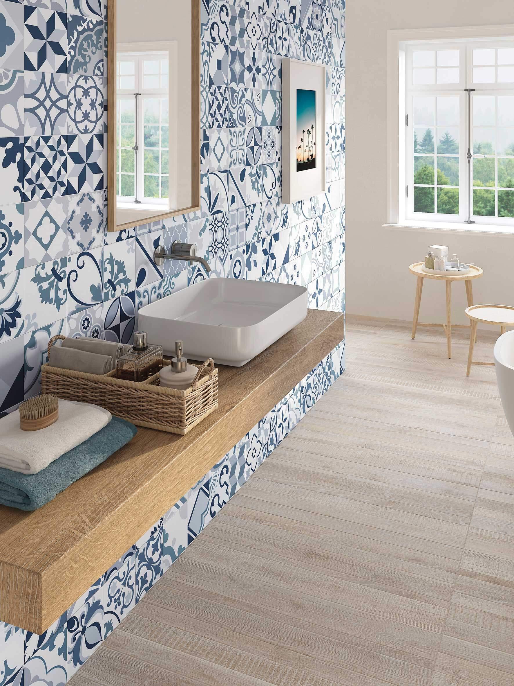 Azulejos Hidráulicos para el Baño