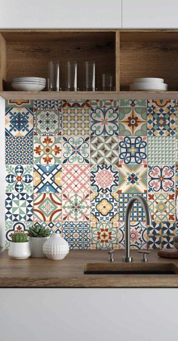 Azulejos Hidráulicos para Baños y Cocinas