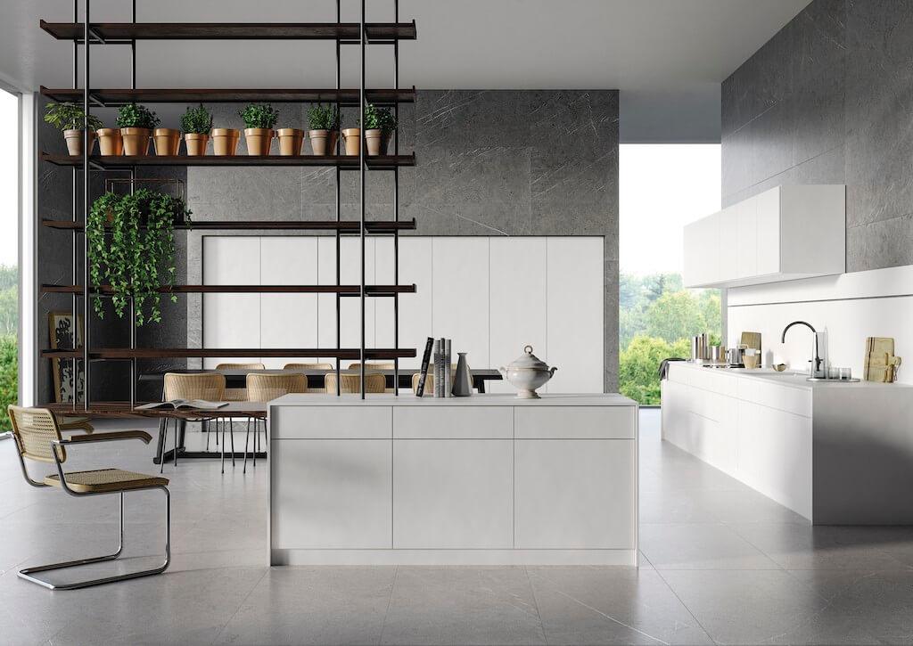 Cocina azulejos Carven Grey
