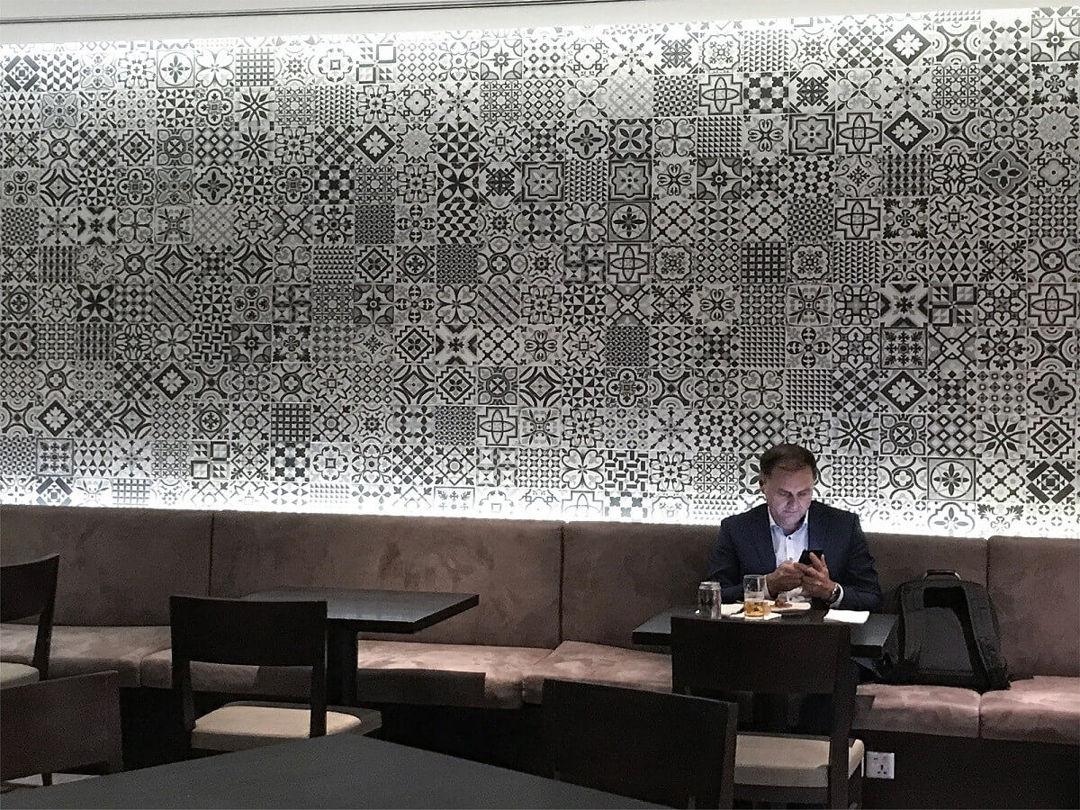 Heritage by Gayafores at Dnata Lounge T1 Singapore Changi Airport