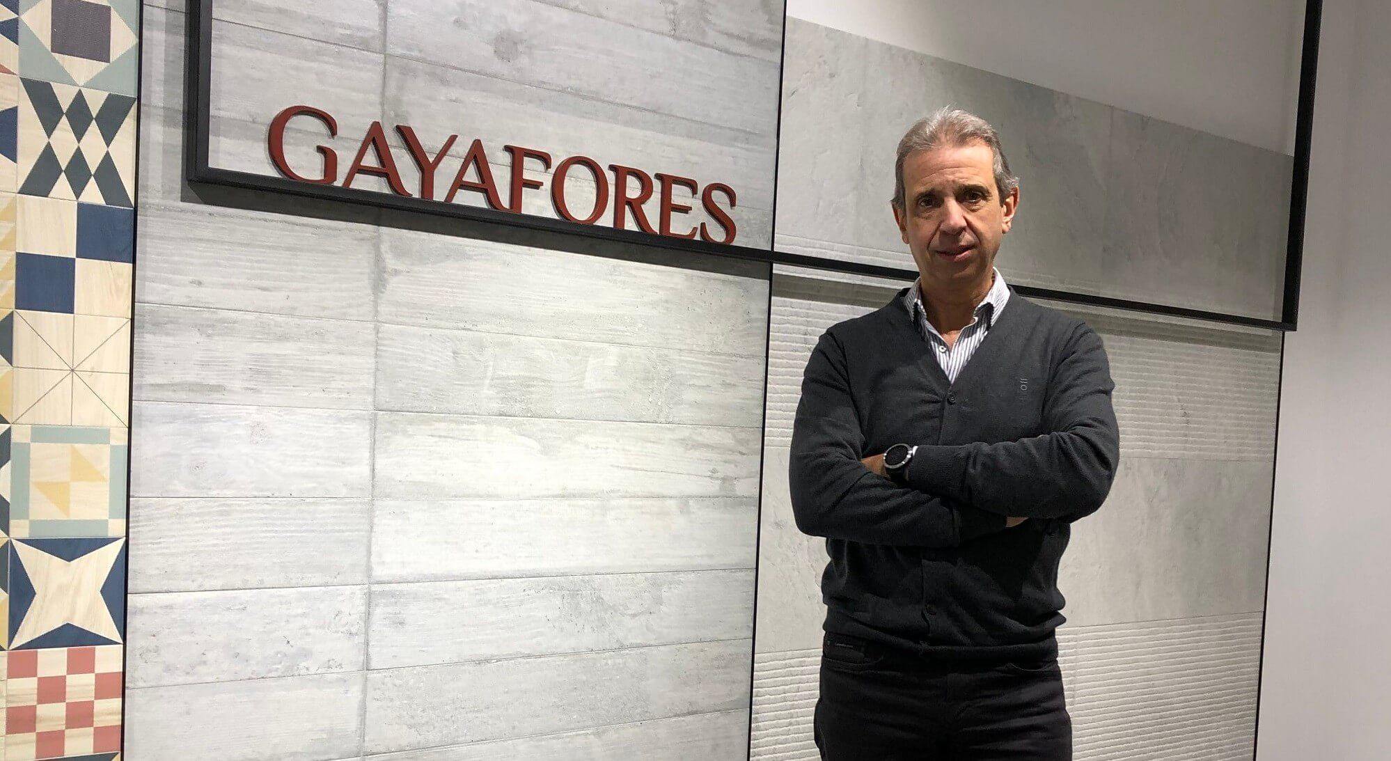 Aldo Patrone, Gayafores Export Manager