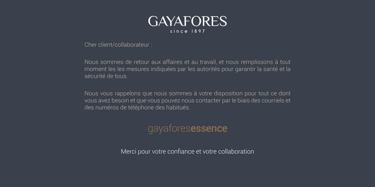 Gayafores is back to work 5