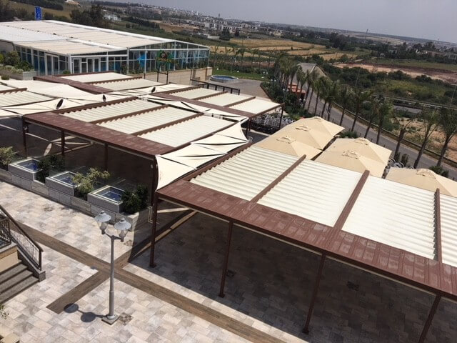 Les Terrasses (Casablanca) project made with Gayafores products