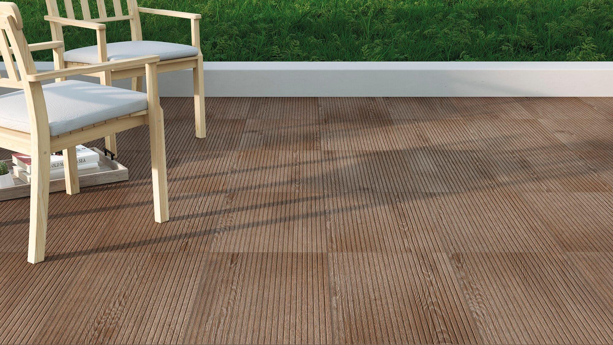 Suelo exterior para terrazas - Amazonia