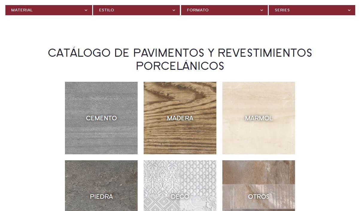 catalogo pavimentos porcelanicos
