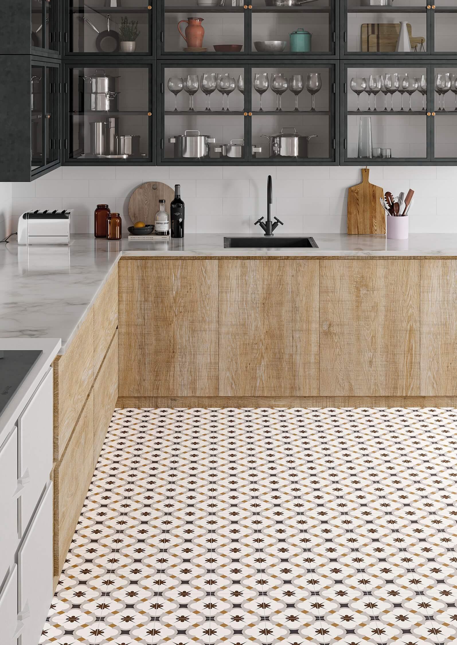 gayafores grace grey hydraulic tiles hidráulicos