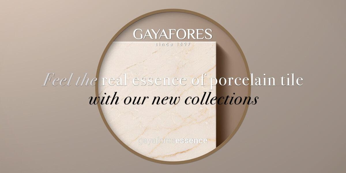Gayafores Crema Avorio new porcelain tiles collection