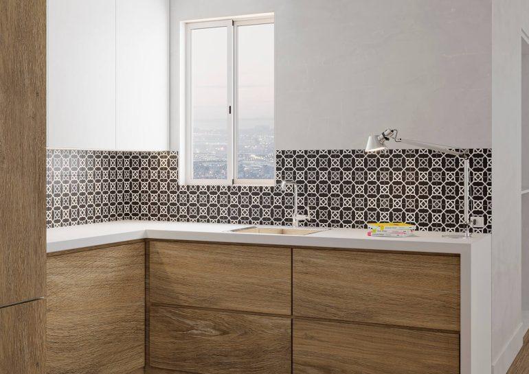 Gayafores Lama Roble Natural porcelain tile