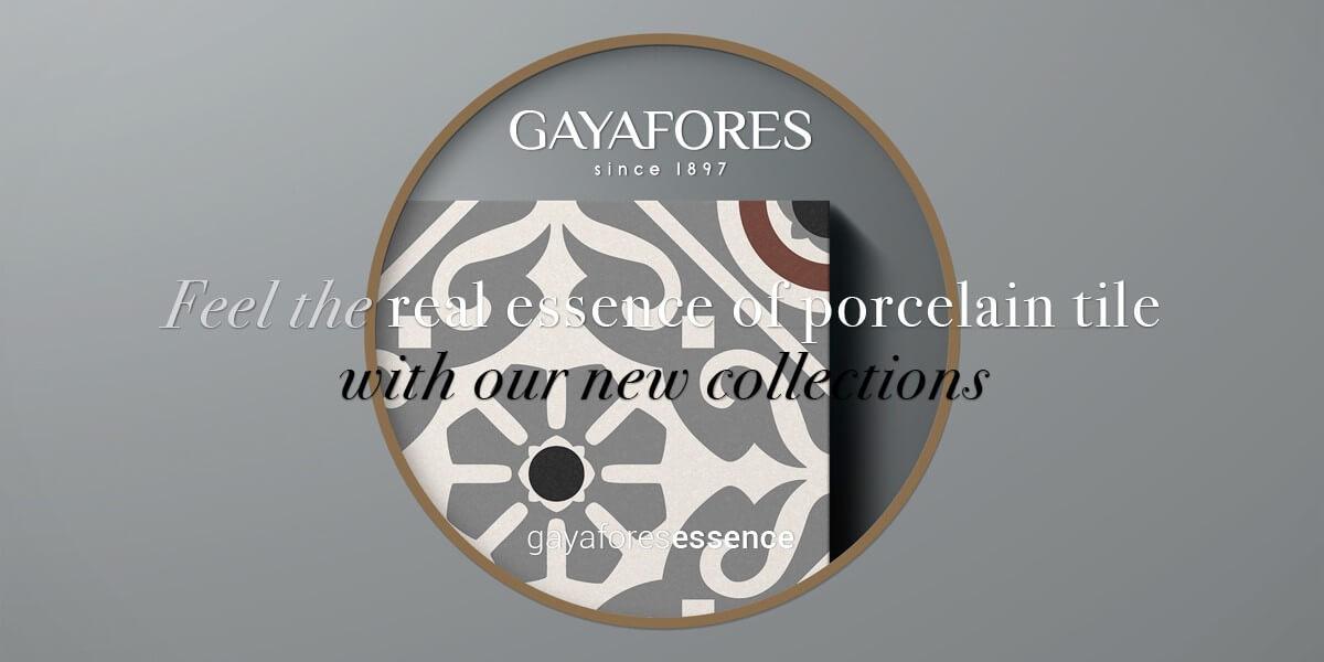 Gayafores Musa new porcelain tiles collection
