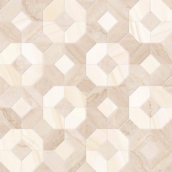 mosaico abadia crema 45×45