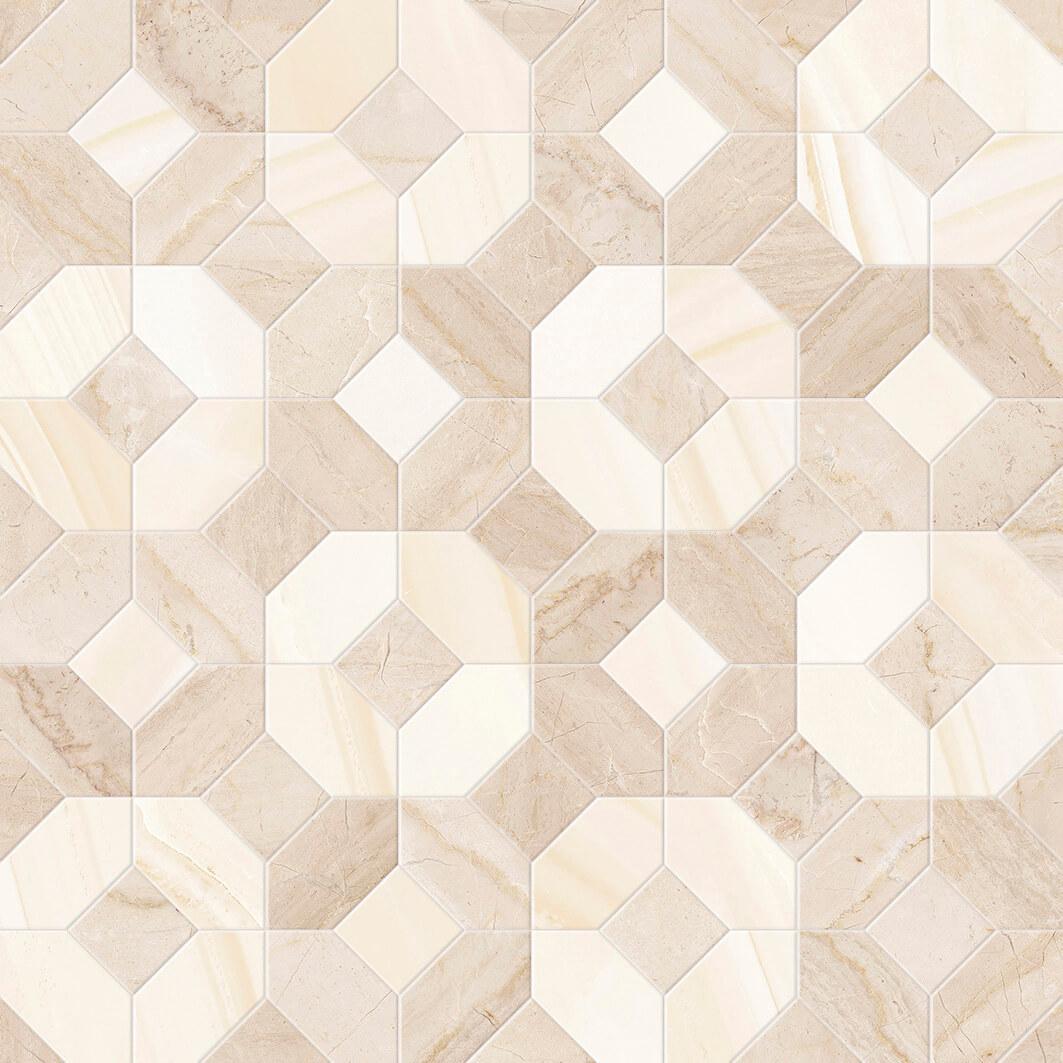 mosaico abadia crema 45x45