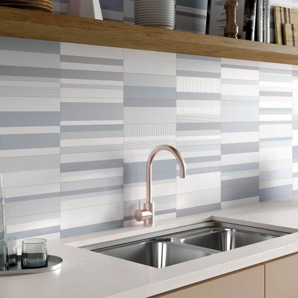 detalle brick gradient gris cocina