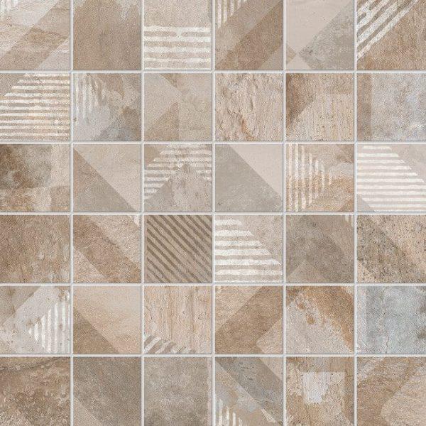 mosaico deco brooklyn greige 30x30 600x600