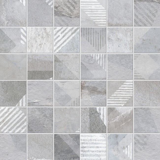 mosaico deco brooklyn gris 30x30 - mosaico deco brooklyn gris 30x30