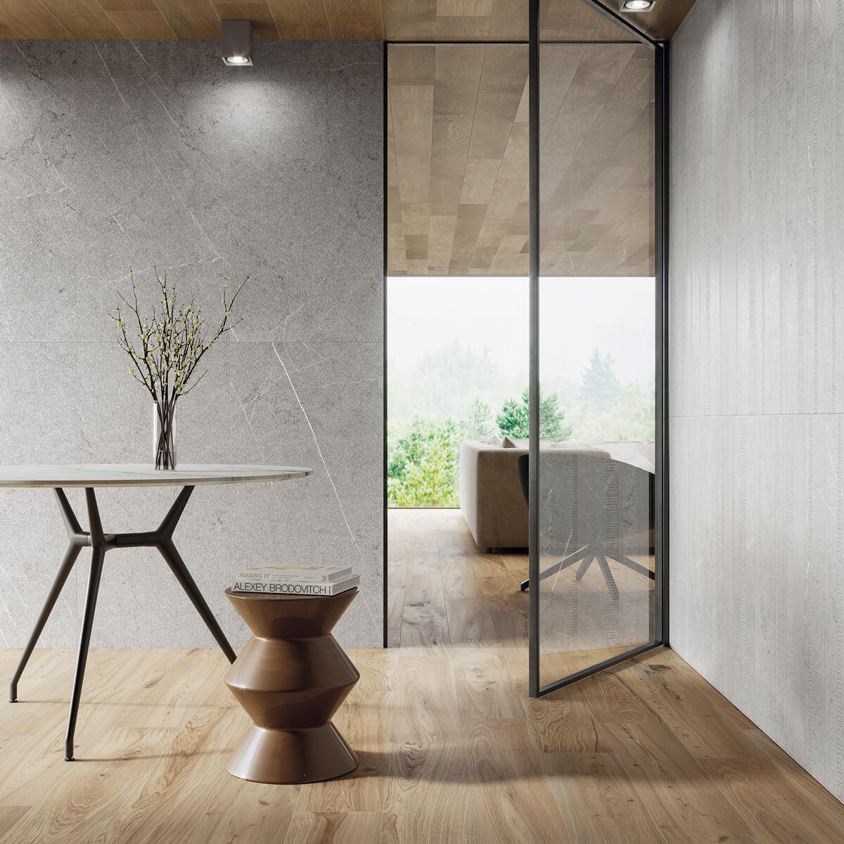 foto carven grey recibidor