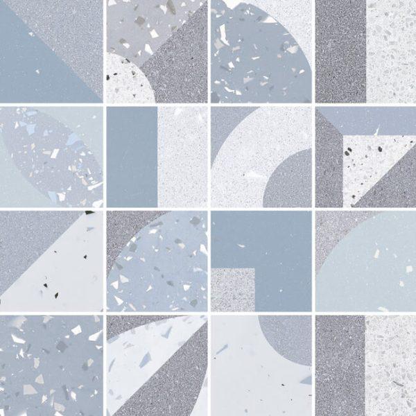 mosaico fusion blue 30×30