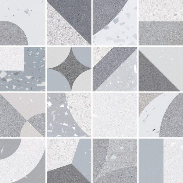 mosaico fusion grey 30×30