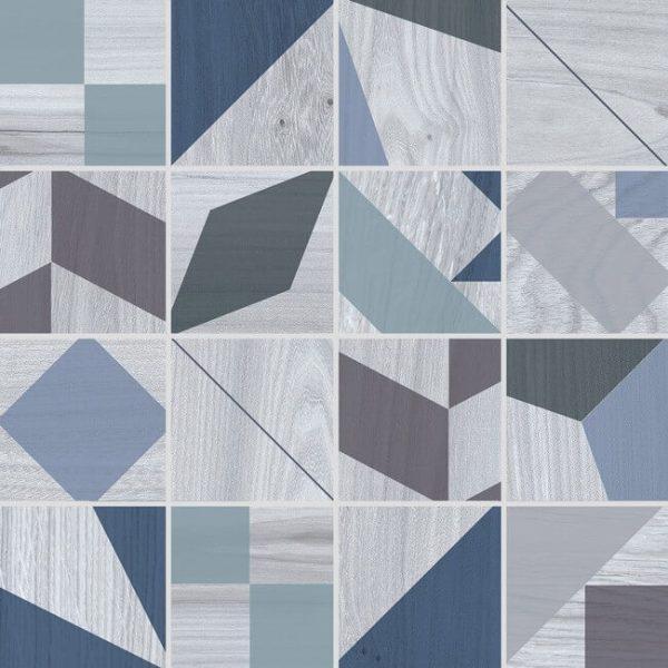 mosaico kaleido blue 30×30