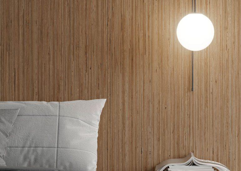 Foto Lama Roble Natural Dormitorio