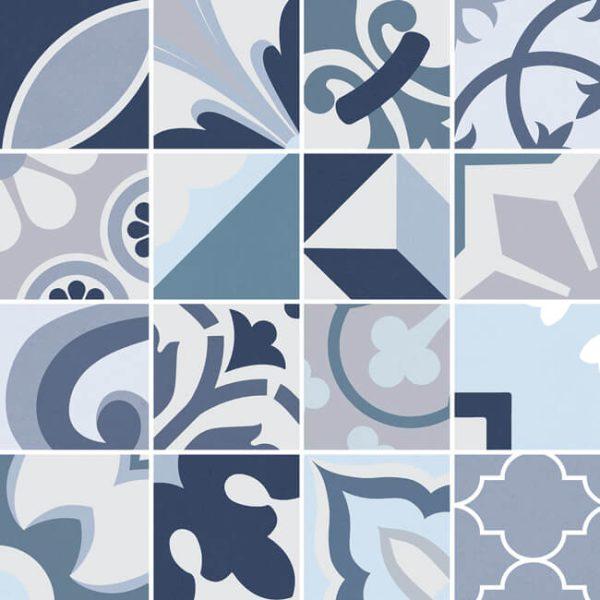 mosaico lumier blue 30×30