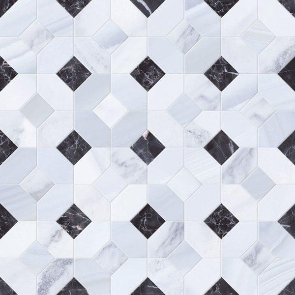 mosaico abadia perla 45×45