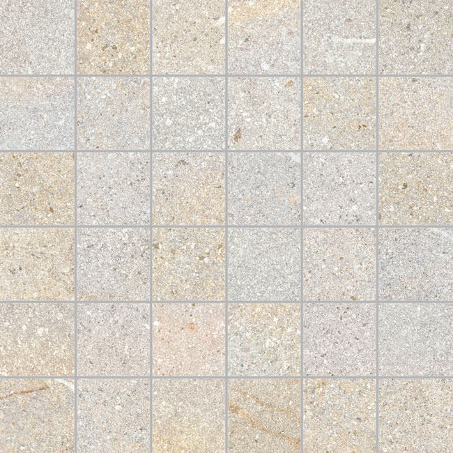 mosaico sandstone almond 30x30