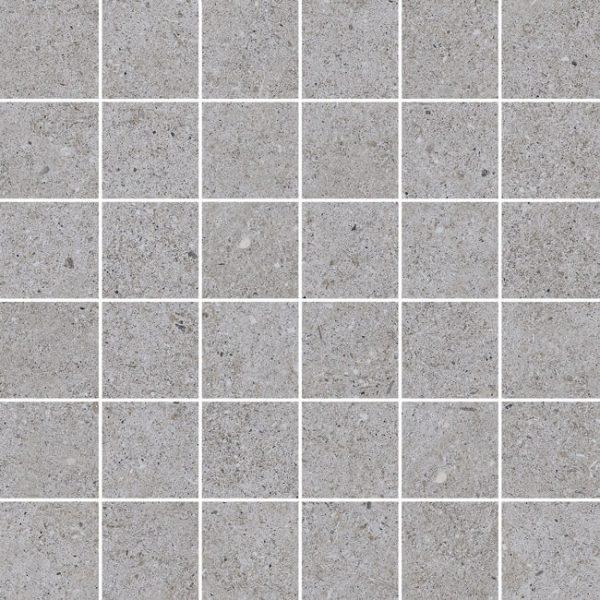 mosaico sassi gris 30×30