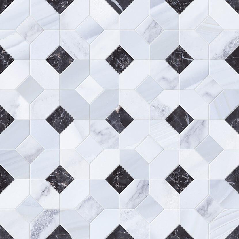 mosaico abadia perla 45x45