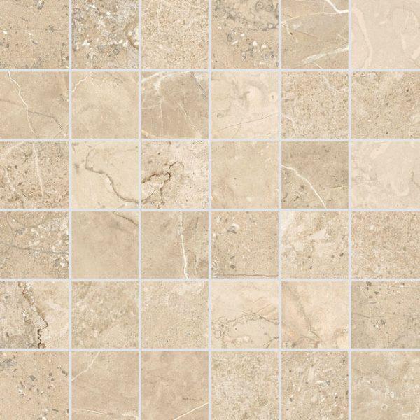mosaico stone box crema 30×30