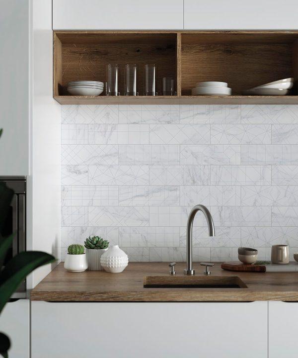 foto brick velvet geo blanco cocina