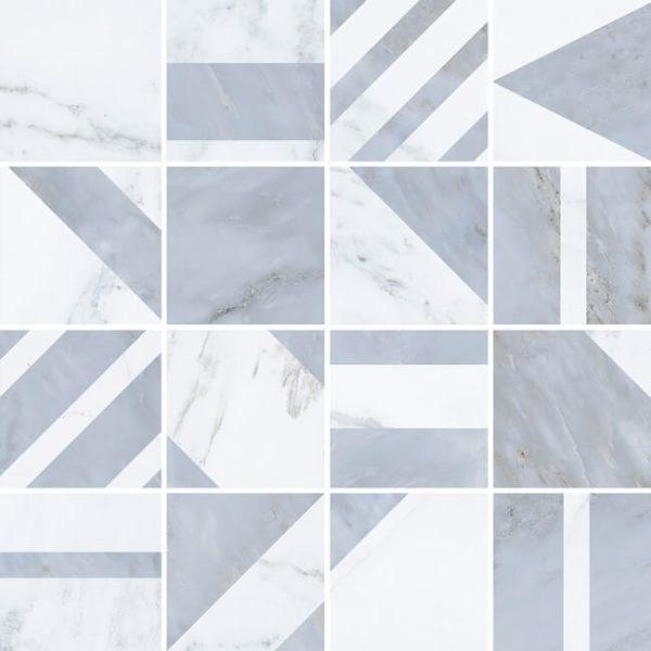 mosaico velvet geo gris 30x30 600x600